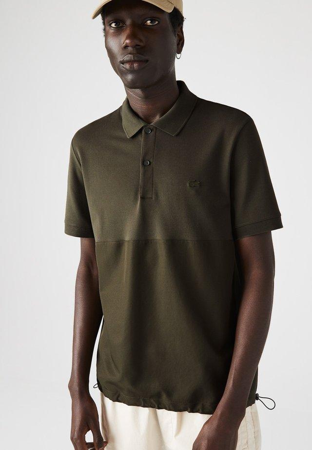 Polo - khaki grün / khaki grün