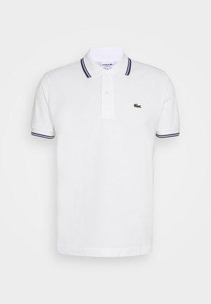 Poloshirt - white/navy blue