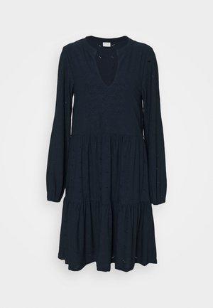 VISANIANA V-NECK DRESS - Robe en jersey - navy blazer