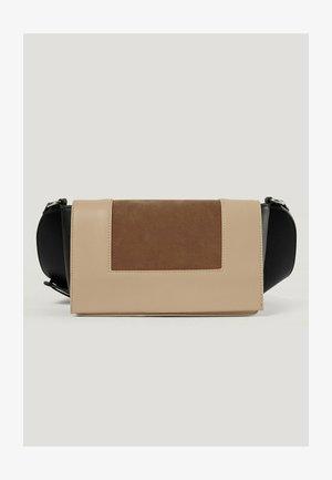 Across body bag - beige combo