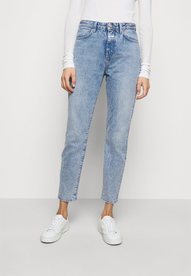 BAKER HIGH - Jeansy Skinny Fit - mid blue