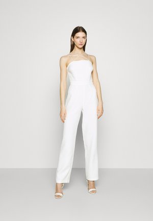 CROSS DETAIL - Jumpsuit - white