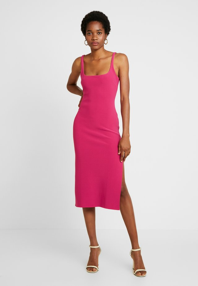 VALENTINE MIDI RESS - Cocktail dress / Party dress - hot pink