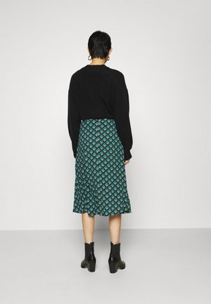 JUNO SKIRT EMPEROR - Gonna a campana - island green