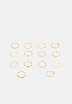 14 PACK - Ringe - gold-coloured