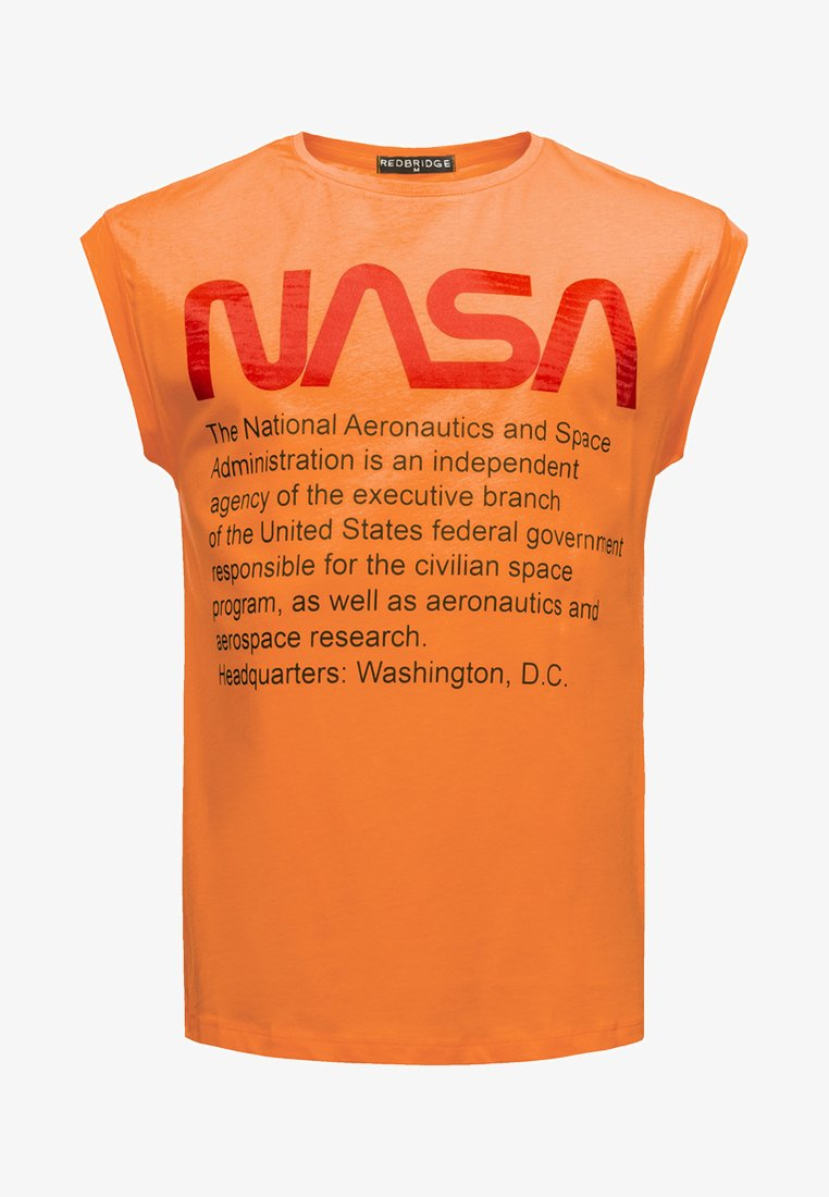 Red Bridge - WASHINGTON NASA  - Top - orange