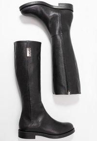 HUGO - VICTORIA FLAT - Boots - black - 3