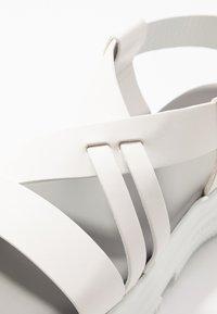 Sportmax - GERLA - Platform sandals - bianco - 2
