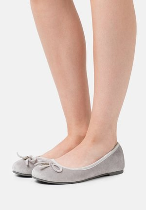 Ballet pumps - grey