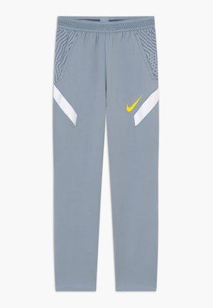 DRY STRIKE PANT - Teplákové kalhoty - obsidian mist/laser orange