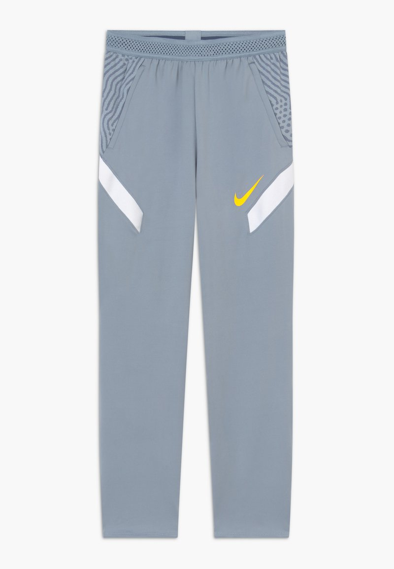 Nike Performance - DRY STRIKE  - Teplákové kalhoty - obsidian mist/laser orange