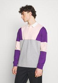 YOURTURN - UNISEX - Polo shirt - mottled grey - 0