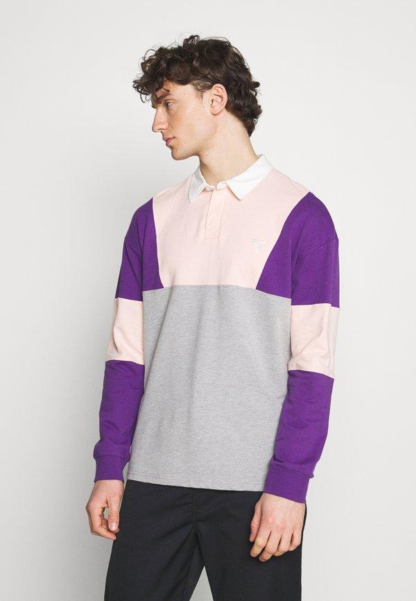 YOURTURN UNISEX - Koszulka polo - mottled grey/szary melanż Odzież Męska WALI