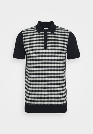 CHECK - Koszulka polo - dark navy