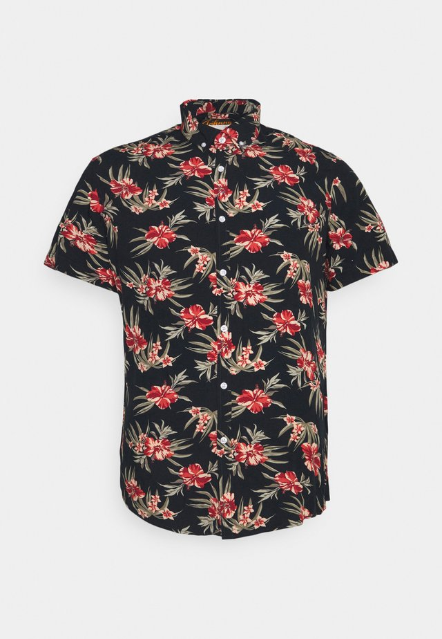 HIBISCUS PRINT  - Shirt - rust