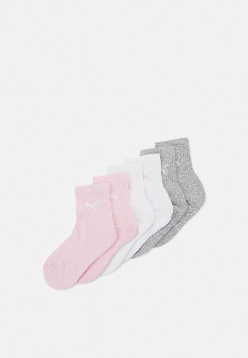 Puma - SPORT JUNIOR 6 PACK UNISEX - Socks - rose water