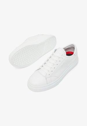 BIANCO SNEAKERS LEDER - Tenisky - white