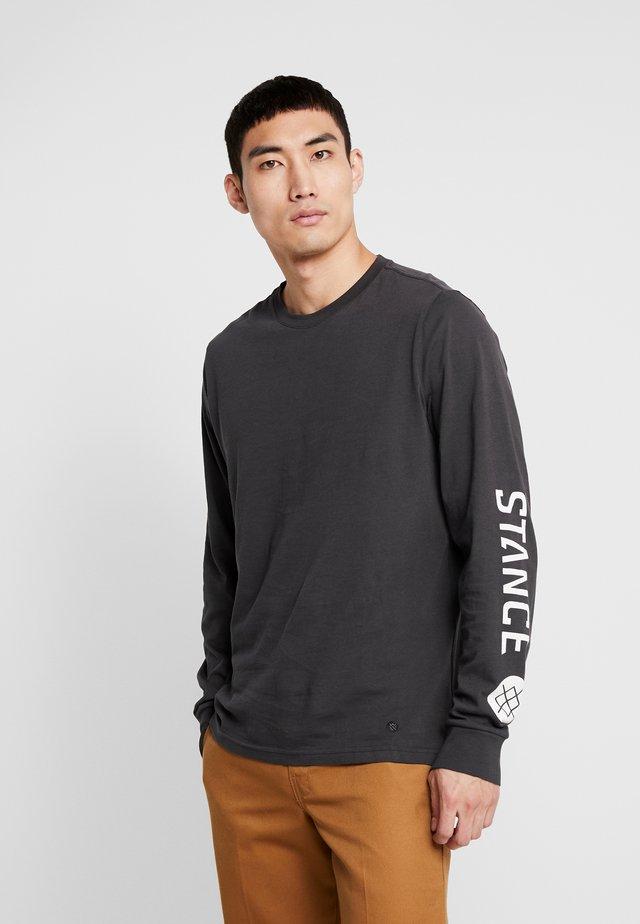 BASIS  - Camiseta de manga larga - blackfade