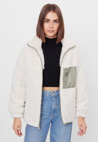 Bershka - Winter jacket - stone - 3