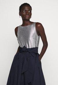 Lauren Ralph Lauren - MEMORY TAFFETA DRESS COMBO - Vestido de cóctel - lighthouse navy - 3