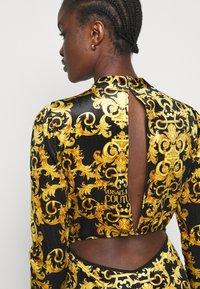 Versace Jeans Couture - LADY DRESS - Shift dress - black - 3