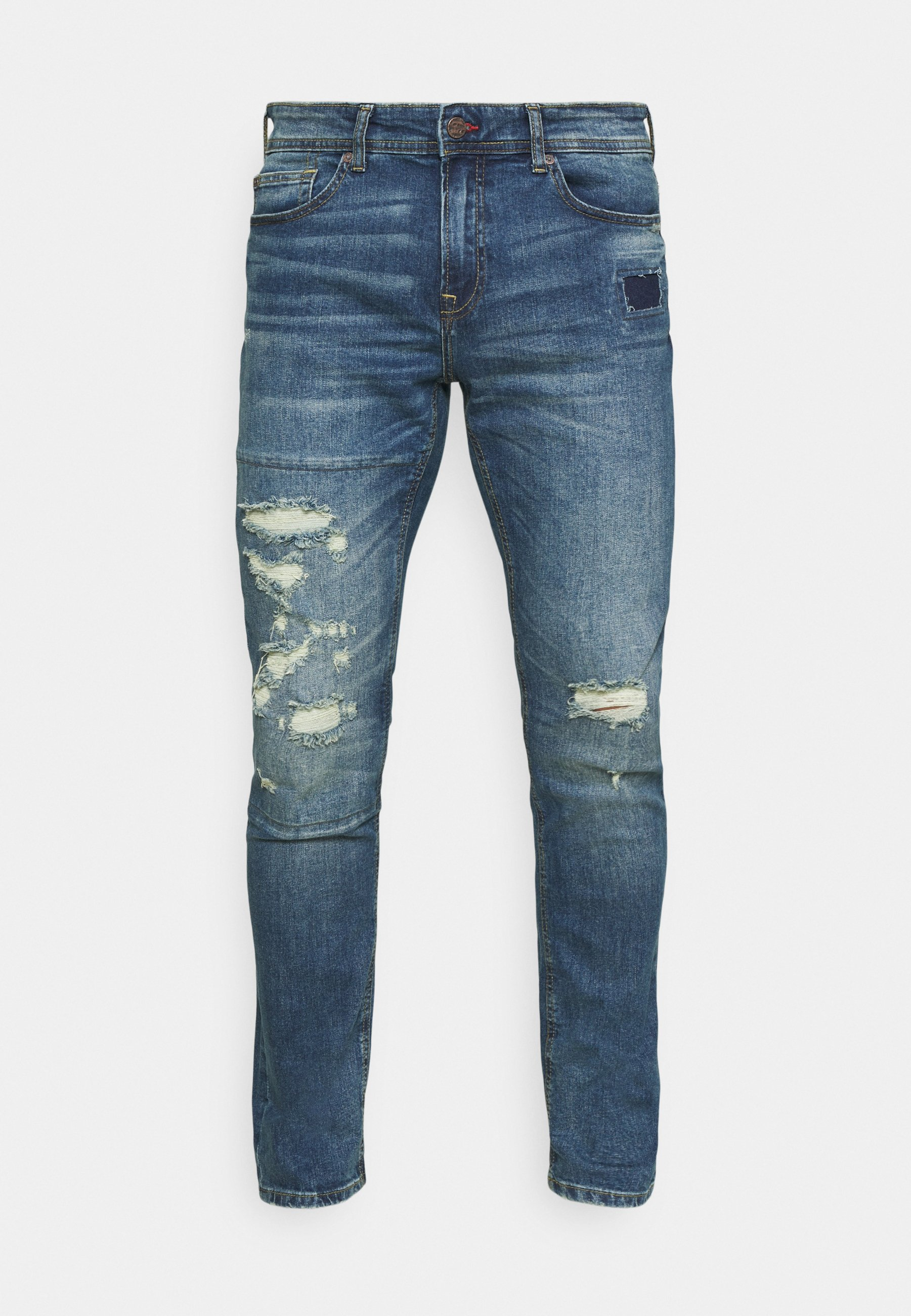 Uomo ONSLOOM LIFE SLIM BLUEDAMAGE  - Jeans slim fit