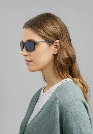MIT POLYCARBONAT - Sunglasses - black
