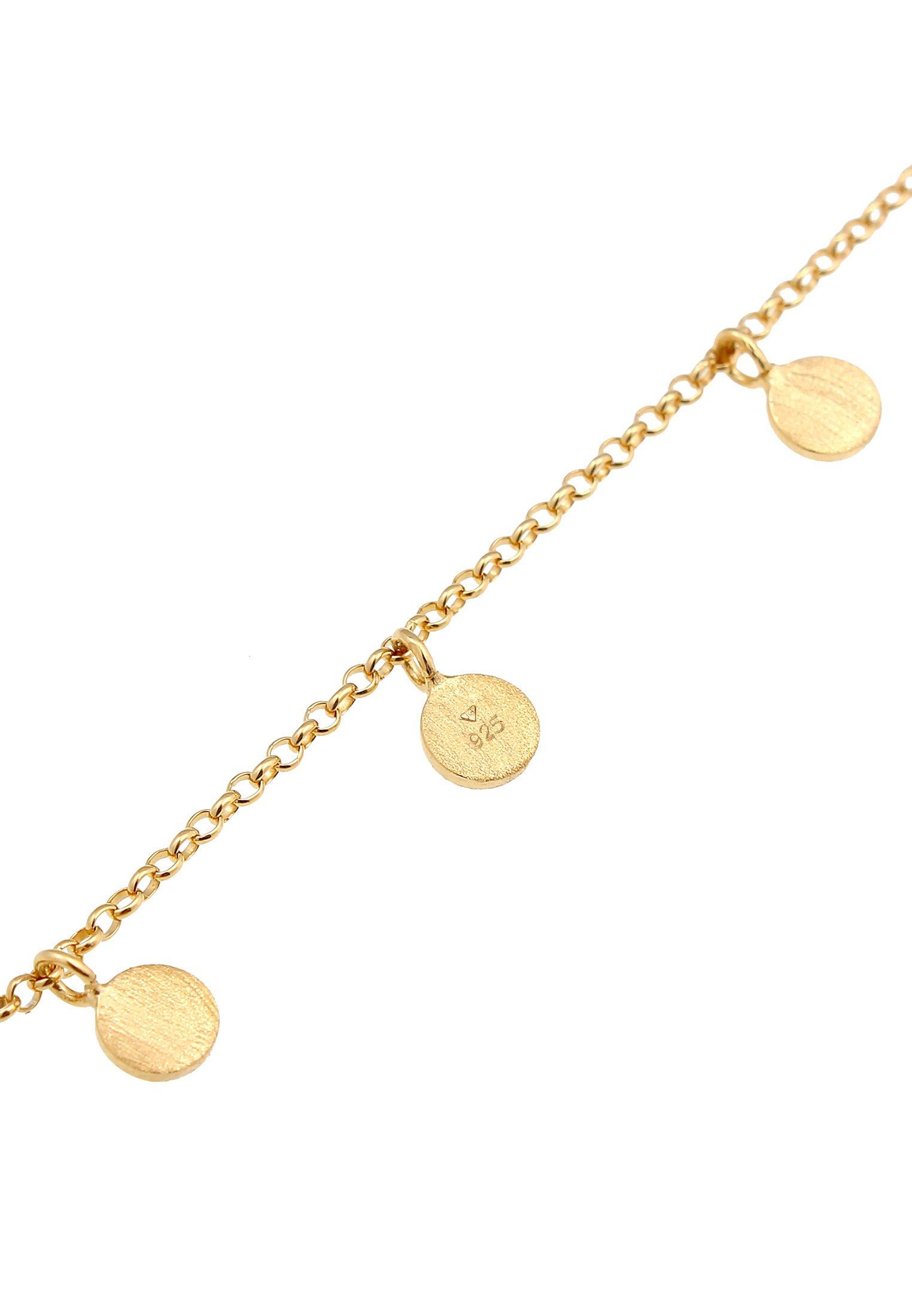 Elli Coin Tablet Circle Geo Basic - Armband Gold