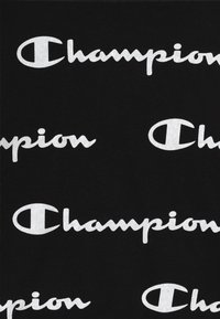 Champion - LEGACY AMERICAN CLASSICS UNISEX - Felpa con cappuccio - black/white - 3