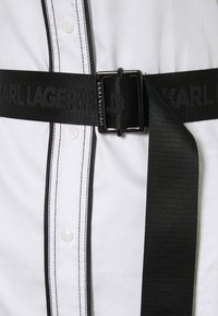 KARL LAGERFELD - SHIRTDRESS CONTRAST DETAIL - Shirt dress - white - 2