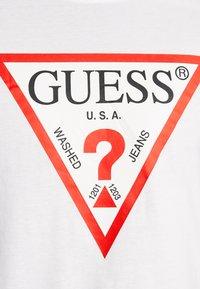 Guess - ORIGINAL LOGO - Long sleeved top - white - 4