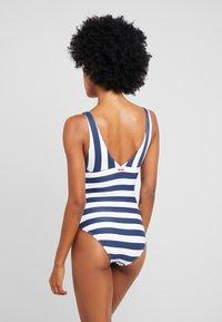 Esprit - NORTH BEACH SWIMSUIT PADDED - Swimsuit - dark blue - 2
