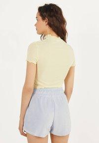 Bershka - Shorts - light blue - 2