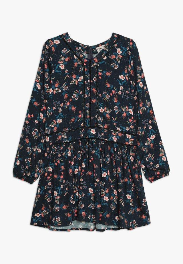 DRESS PRINTED - Day dress - midnight blue