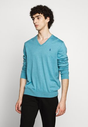 Strickpullover - captiva blue heat