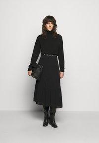 Bruuns Bazaar - NORI SICI DRESS - Shirt dress - black - 1