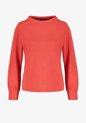 Long sleeved top - carmine red