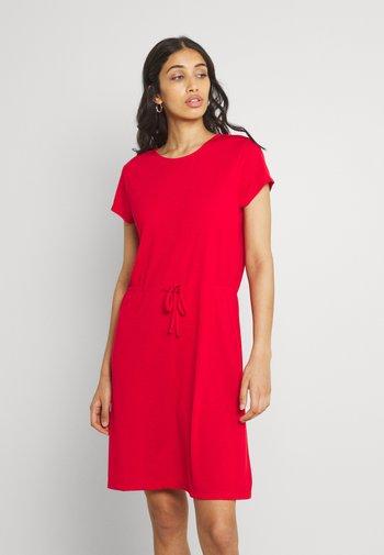 VIMOONEY STRING DRESS - Jersey dress - mars red