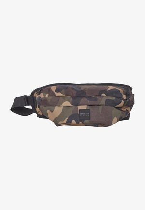 URBAN CLASSICS CAMO SHOULDER BAG - Bum bag - wood camo