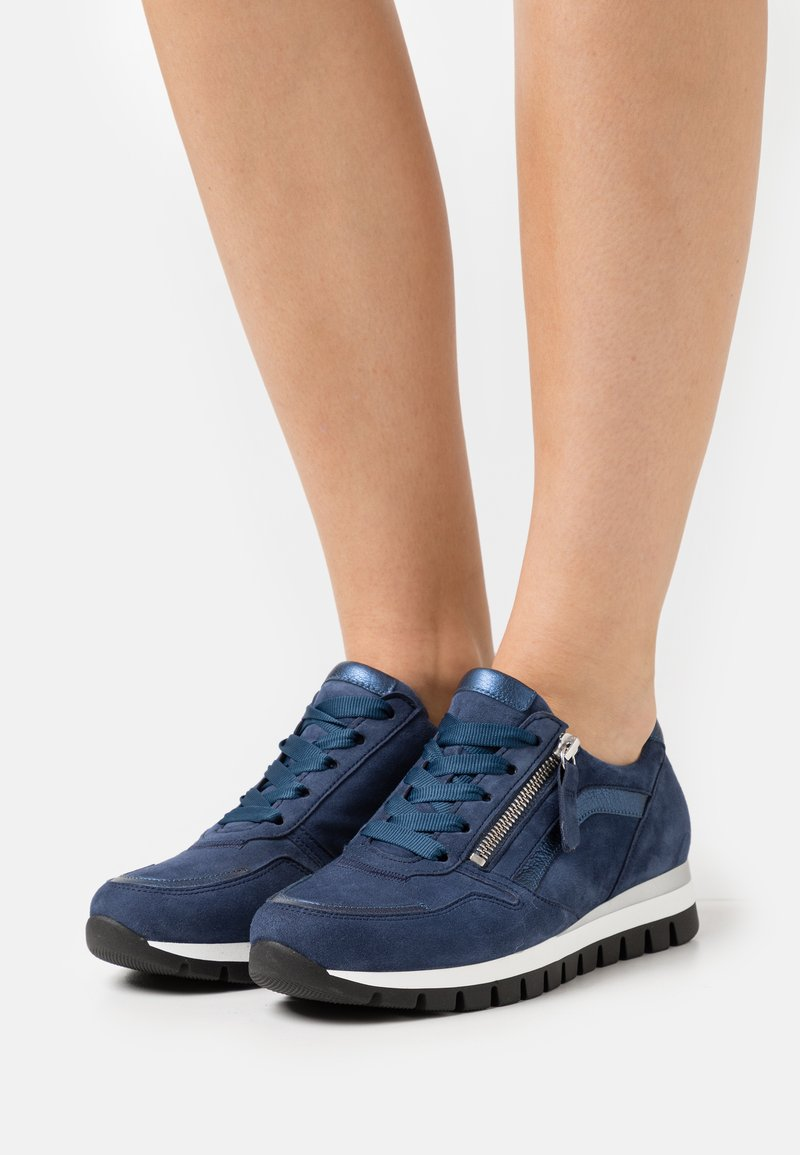 Gabor Comfort - Sneakers laag - river/jeans