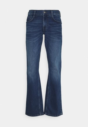 OREGON - Bootcut jeans - denim blue
