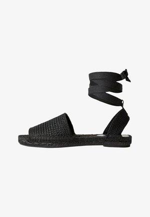 NATURAL - Loafers - noir