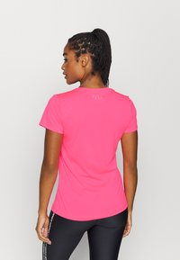 Under Armour - TECH - Basic T-shirt - cerise - 2