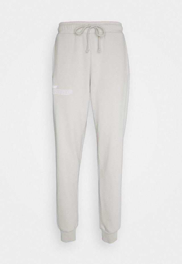 HOPE JOGGER UNISEX - Pantaloni sportivi - grey