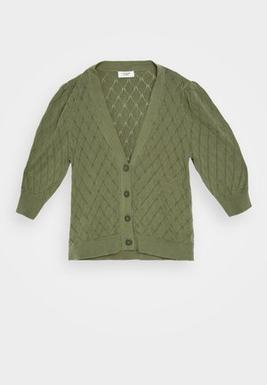JDYPARKER LIFE  - Cardigan - dusky green