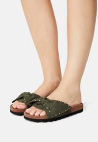 Copenhagen Shoes - NOVA  - Mules - lagoon green - 0