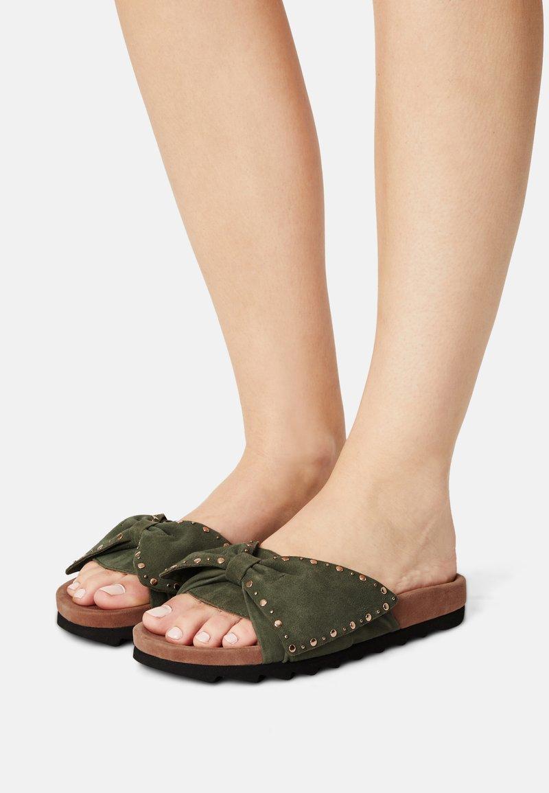 Copenhagen Shoes - NOVA  - Mules - lagoon green
