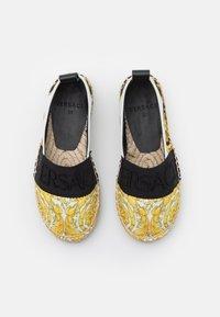 Versace - Espadrilles - black/gold/white - 3