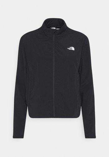 LINED BOMBER JACKET - Outdoor jacket - black