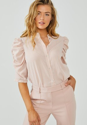 TACIANA - Button-down blouse - dusty rose
